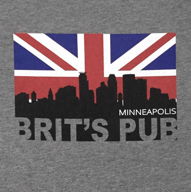 Minneapolis Union Jack Skyline