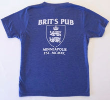 SuperBrit YOUTH Tee Back - Brit's Pub Logo
