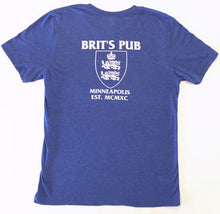 SuperBrit Adult Tee Back - Brit's Pub Logo