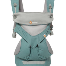Icy Mint Ergo 360 performance baby carrier front view showing breathable cool mesh