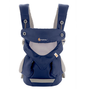 French Blue Ergo 360 Performance front view showing breathable cool mesh