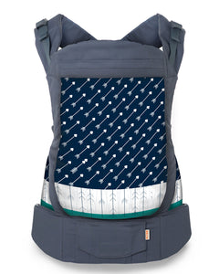 Front view of Beco Toddler Carrier Arrow