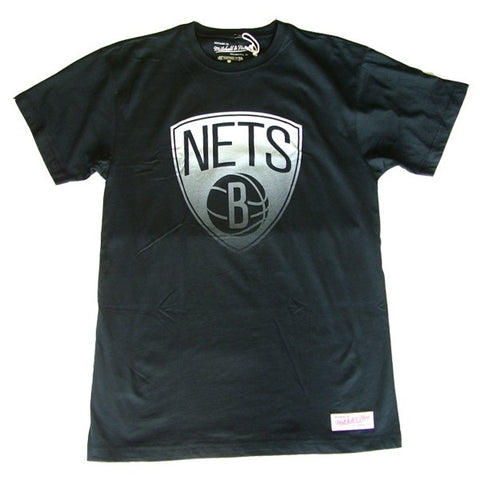 Mitchell & Ness Gradient Infill Traditional Tee Brooklyn Nets