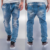 Just Rhyse Jeans Optic Sweat Pants Blue