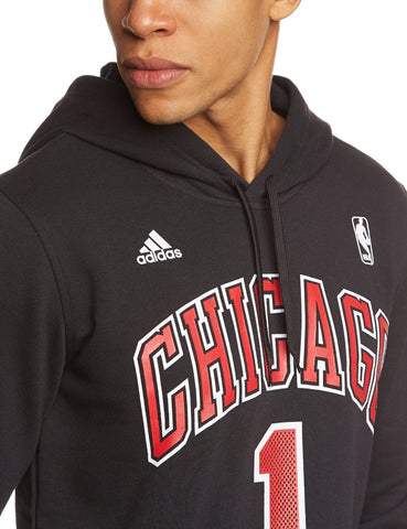 Adidas mikina NBA Chicago Bulls Gametime Hooded sweat