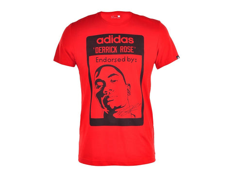 ADIDAS MENS DERRICK ROSE T-SHIRT