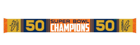 DENVER BRONCOS SUPER BOWL 50 CHAMP šál