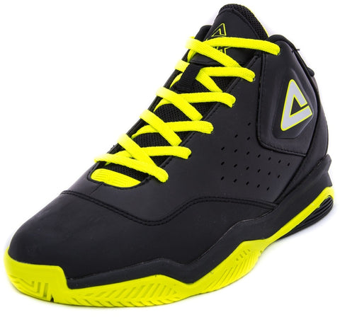 3d98ac65710 PEAK ARMOR II Basketball Shoes E44191 Black Yellow