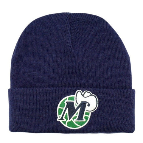 Mitchell & Nes Cuff Slouch Knit Dallas Mavericks