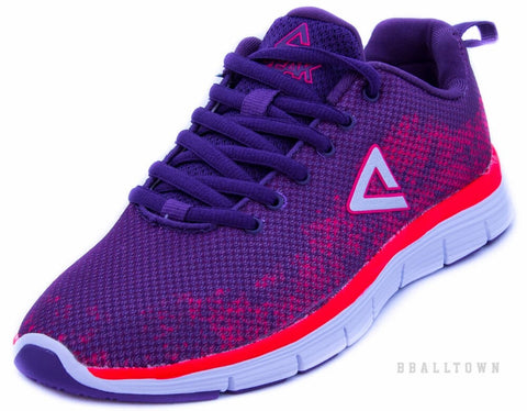 PEAK Running Shoes E51518 Purple