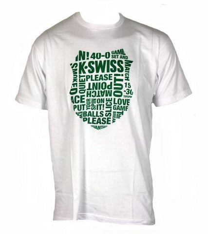 K-SWISS WORD MIX SHLD TEE V2