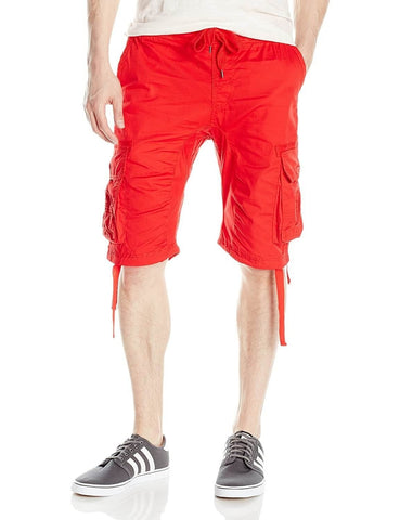 South Pole Non Denim Short Red