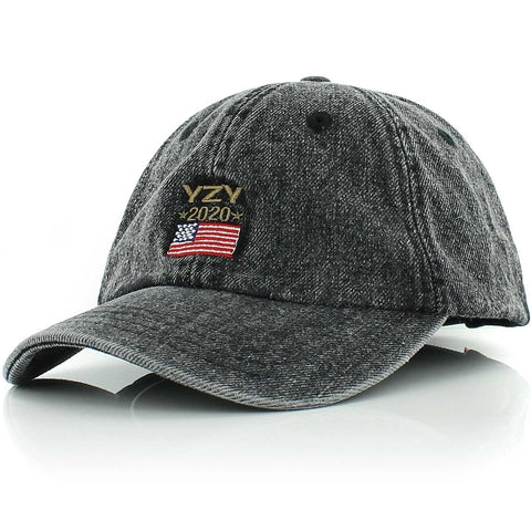 Kreem YZY 2020 Dad Cap - acid washed black