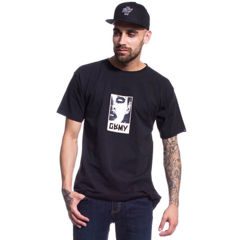 Grimey Cut The Crap Revenge Tee Black