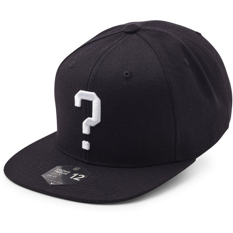 State Of Wow Šiltovka Question Mark - Black - Snapback