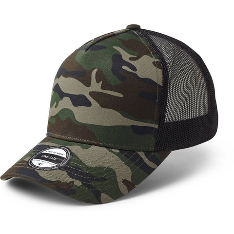 State Of Wow Šiltovka Reed Baseball Trucker Camo