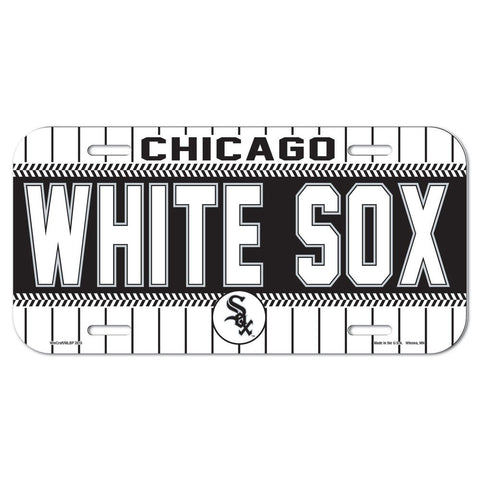 Wincraft License Plate Chicago White Sox