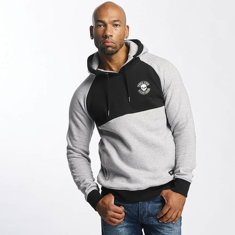 Thug Life Men Hoodie Cloud in grey