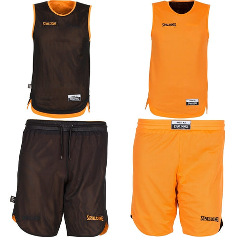 Spalding Doubleface Kids Set - orange/black