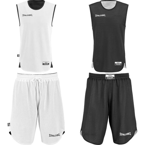 Spalding Doubleface Kids Set - black/white