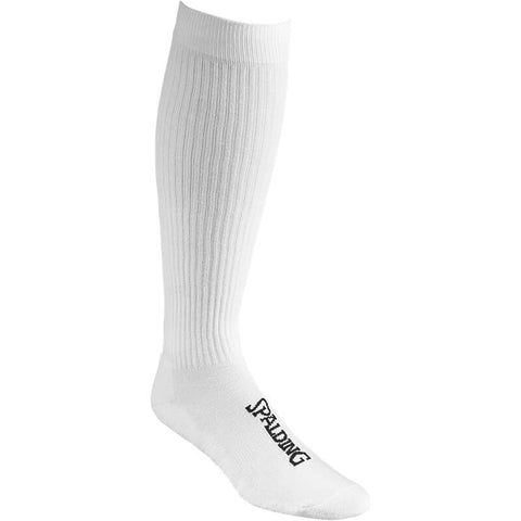 Spalding Socks High Cut (2 páry v balení) White