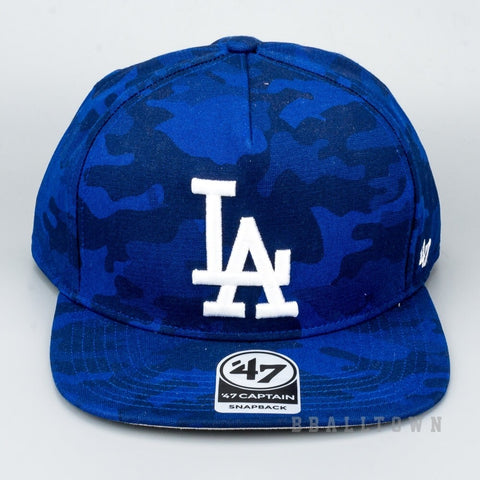 47 BRAND CAPTAIN CAP MLB Los Angeles Dodgers