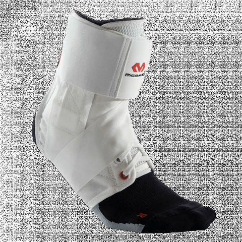 McDAVID Ankle Brace with Straps – Lightweight support [195] white