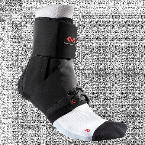 Ankle Brace with Straps – Lightweight support [195] black