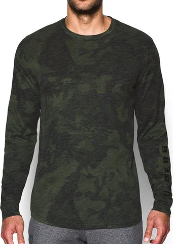 Under Armour Sportstyle LS Graphic Tee Artillery Green/Black