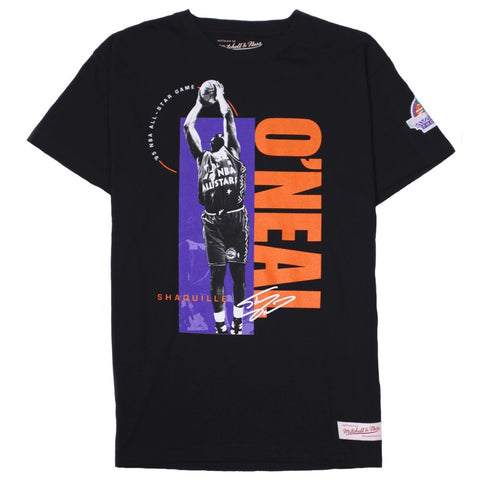 Mitchell & Ness Photo Real Traditional Tee - Shaquille O'Neal All Star Black