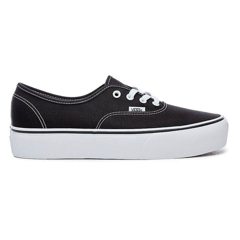 VANS AUTHENTIC PLATFORM 2.0 SHOES BLACK