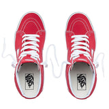 VANS SK8-HI SHOES RED