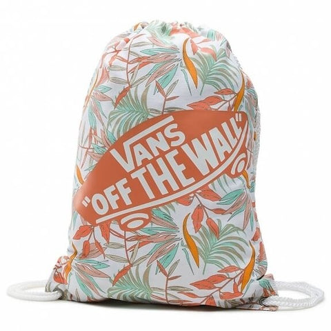 VANS BENCHED NOVELTY BACKPACK WHITE CALIFORNIA FLORAL