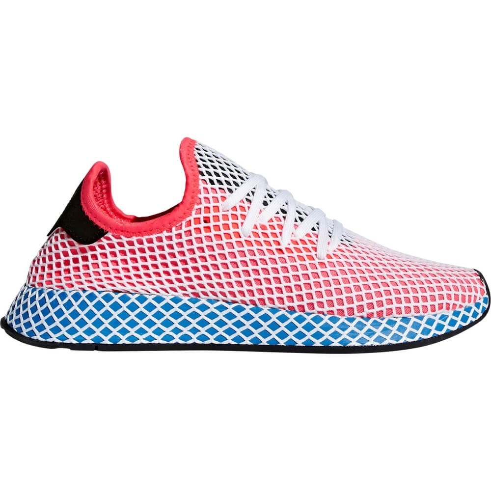 Adidas Originals Tenisky Deerupt Runner - Red – BBALLTOWN 7744e0999e3