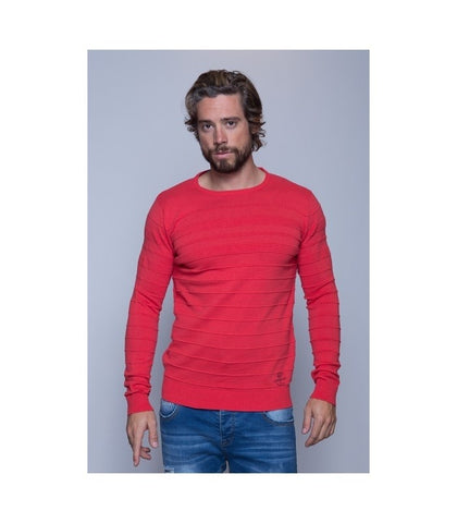 MZ72 Ashton Sweater Fire Red