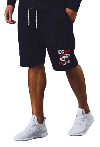 Ecko Unltd Longcross Fleece Short Antracit