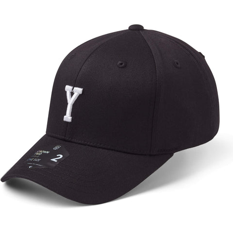 State Of Wow Šiltovka Yankee Baseball Cap - Crown 2 - Black/White - Strapback