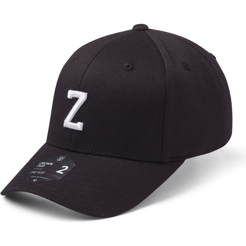 State Of Wow Šiltovka Zulu Baseball Cap - Crown 2 - Black/White - Strapback