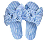 Slydes Brighton Fabric Knot Blue