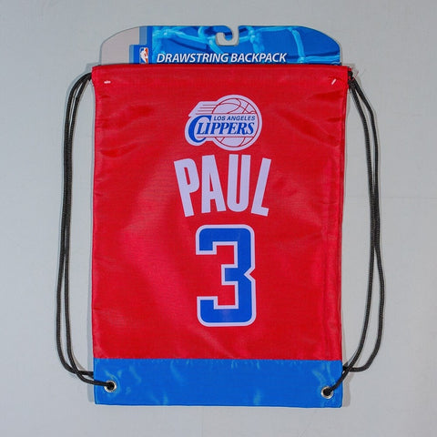 NBA Los Angeles Clippers Paul C. Nr.3 Drawstring Backpack
