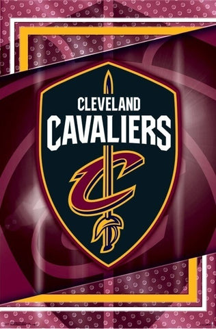 NBA Poster Cleveland Cavaliers Logo