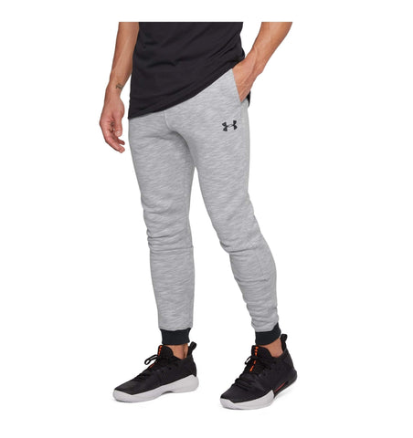Under Armour Baseline Tapered Basketball Pants True Gray Heather