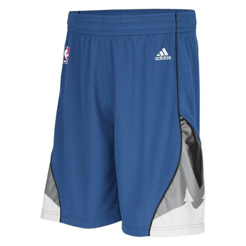 Adidas Shorts Hose Navy Basketball NBA Swingman Minnesota Timberwolves