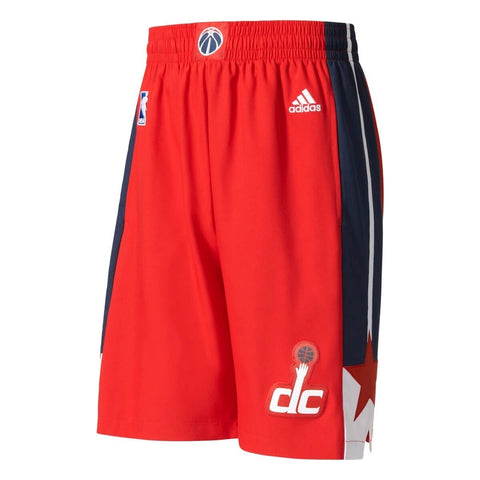 Adidas Washington Wizards NBA Swingman Basketball Shorts