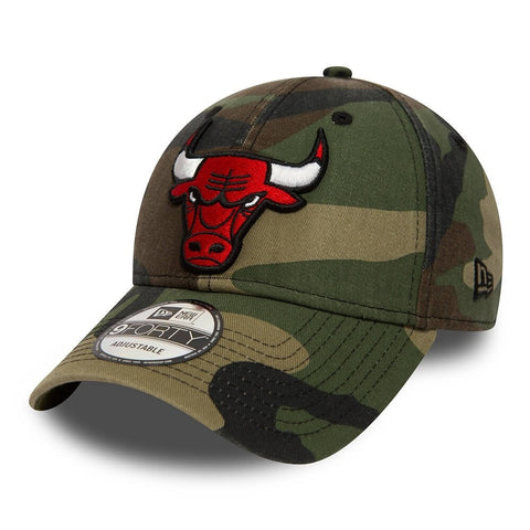 New Era Šiltovka 940 NBA Washd Camo Chicago Bulls