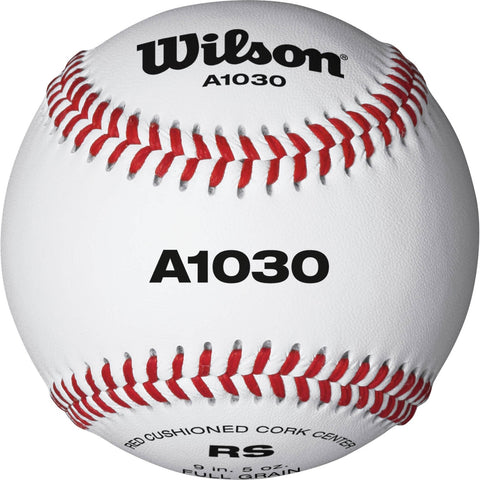 WILSON OFFICIAL LEAGUE BASEBALL BALL