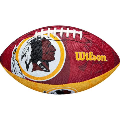 WILSON NFL JR TEAM LOGO FB Washington Redskins