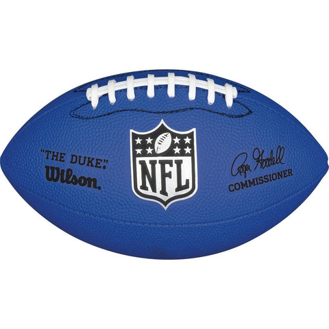 WILSON NFL MINI REPLICA FB - BLUE