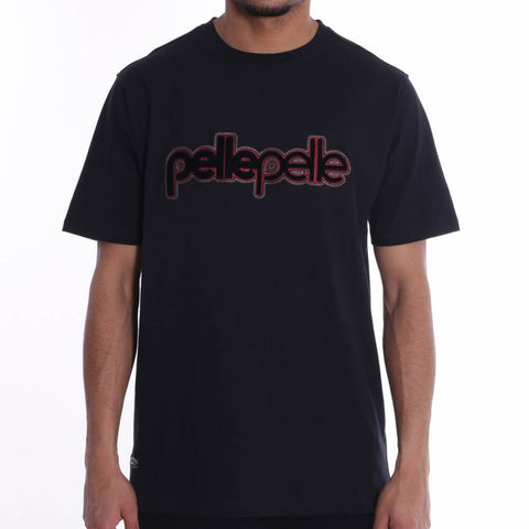 Pelle Pelle Corporate Brush T-Shirt S/S - Black