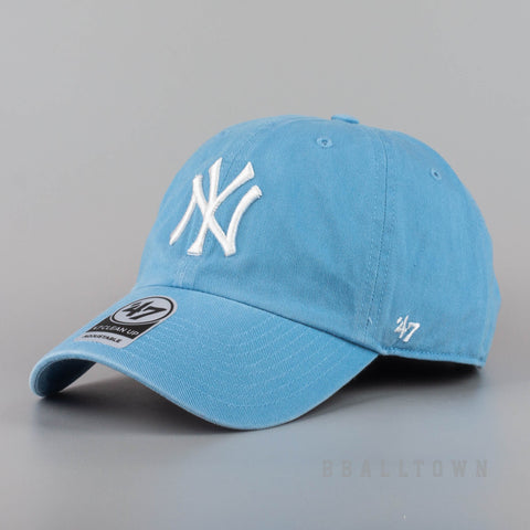 47 Brand MLB Šiltovka COA CLEAN UP New York Yankees